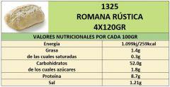 ROMANA RUSTICA 4X120GR