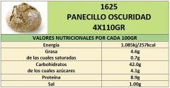 PANECILLO OSCURIDAD 4X110GR