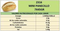 MINI PANECILLO 7X45GR