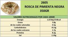 ROSCA PIMIENTA NEGRA 350GR
