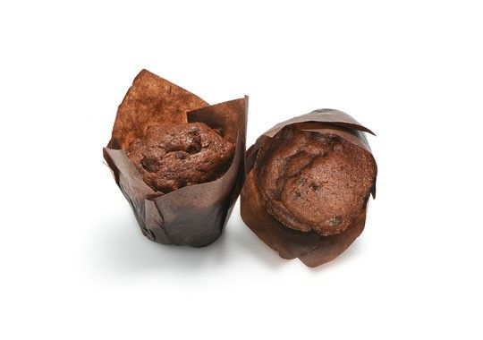 MINI MUFFINS DOBLE CHOCOLATE 6X26GR