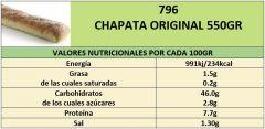 CHAPATA ORIGINAL 500GR